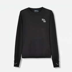 "オンライン限定 Knit ""Stylish Logo Pullover"""
