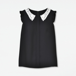 【予約販売】 Lace Collar Blouse