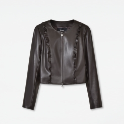 "Eco-Leather Jacket ""Frill"""