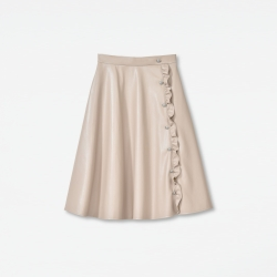 Eco-Leather Skirt