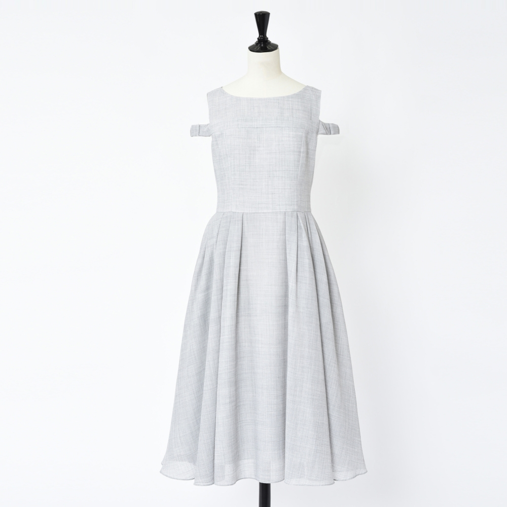 "Dress""WOOL FACE VOILE"""