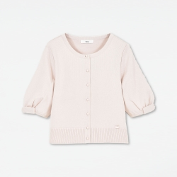 "Knit Cardigan ""Little Puff"""
