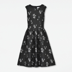 "Dress ""Flower Jacquard"""