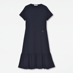 Hem Knit Dress