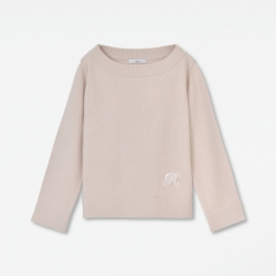 Embroidery Knit Pullover