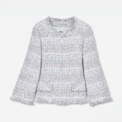"Tweed Jacket ""Pastel Spring"""